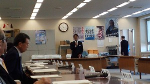 和田県警本部長