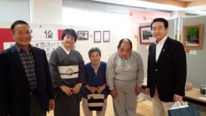 近藤理事長と大矢傑さん達と