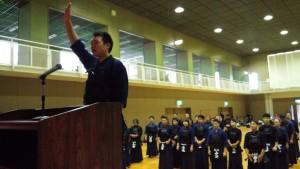 剣道大会選手宣誓