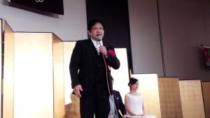国会議員代表の塚田一郎参議院議員