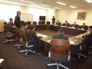 農水省大臣官房以下担当職員との意見交換