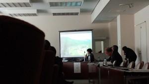 文化振興議連での講演