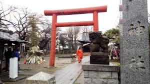 金山神社の神事