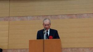 選考委員長の新大名誉教授古川氏の講評