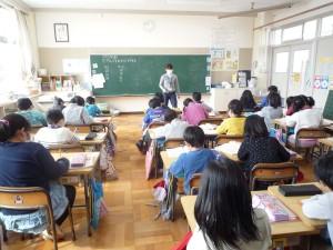 教室内の授業の様子