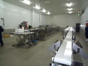 世界一の放射能検査体制室2ライン
