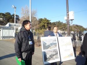 既成市街地新門脇地区区画整理事業説明